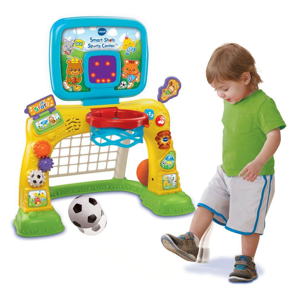 Details About Vtech Smart Shots Sports Center Basketball Soccer Toy