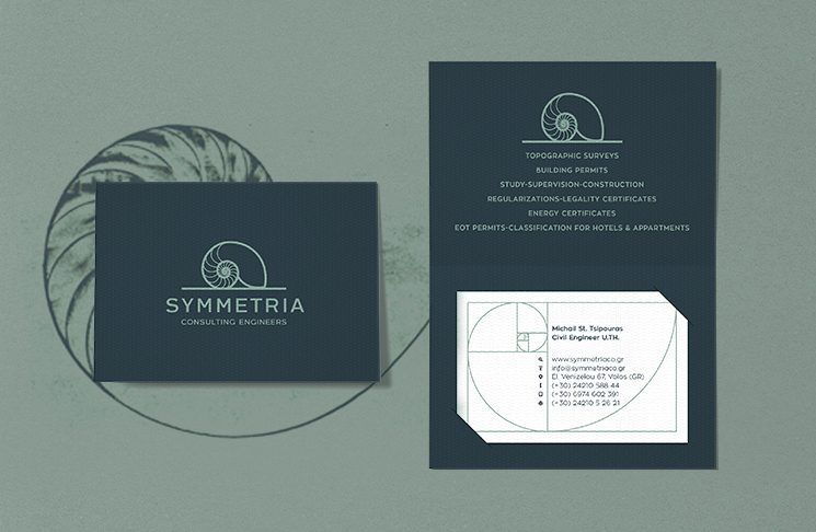 Symmetria Consulting Engineers Business Card Featured Business