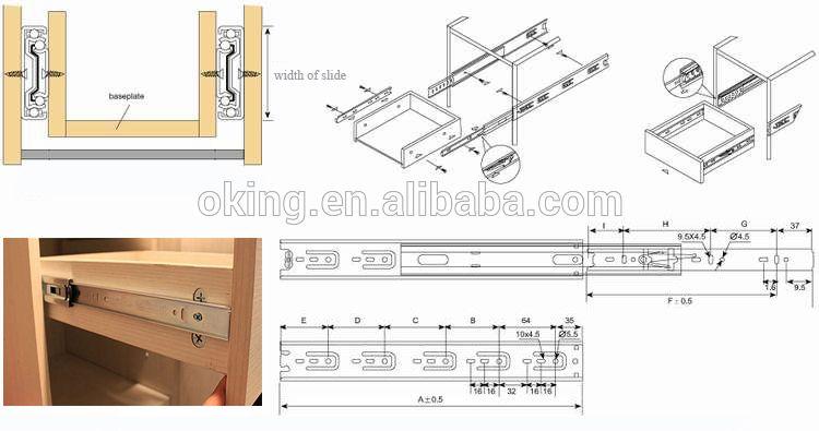Self Closing Soft Closing Drawer Slide Blum Self Closing Drawer Slides Self Locking Drawer Slides Floor Plans Manufacturing Structures