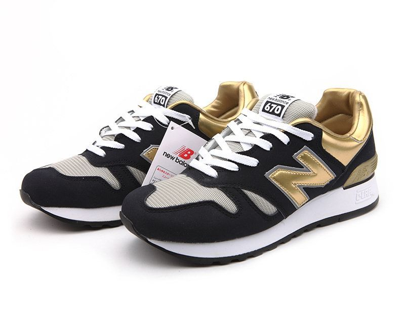 Discount New Balance CM670NNG Black Gold Grey Mens NB-670 Sneakers For  Males/Boys