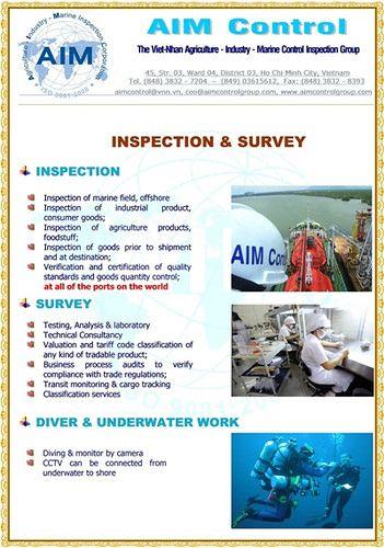 The Viet Nhan Aim Survey Inspection Surveys Inspect Marine
