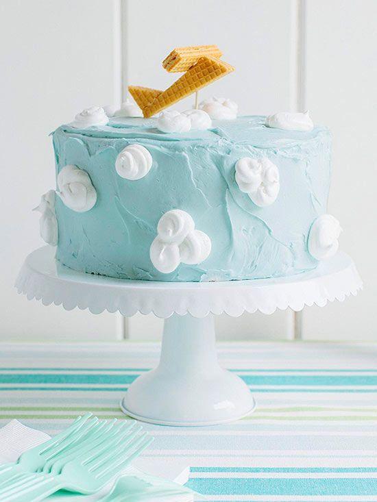 Resultado de imagen para cloud baby shower cakes Proyectos que