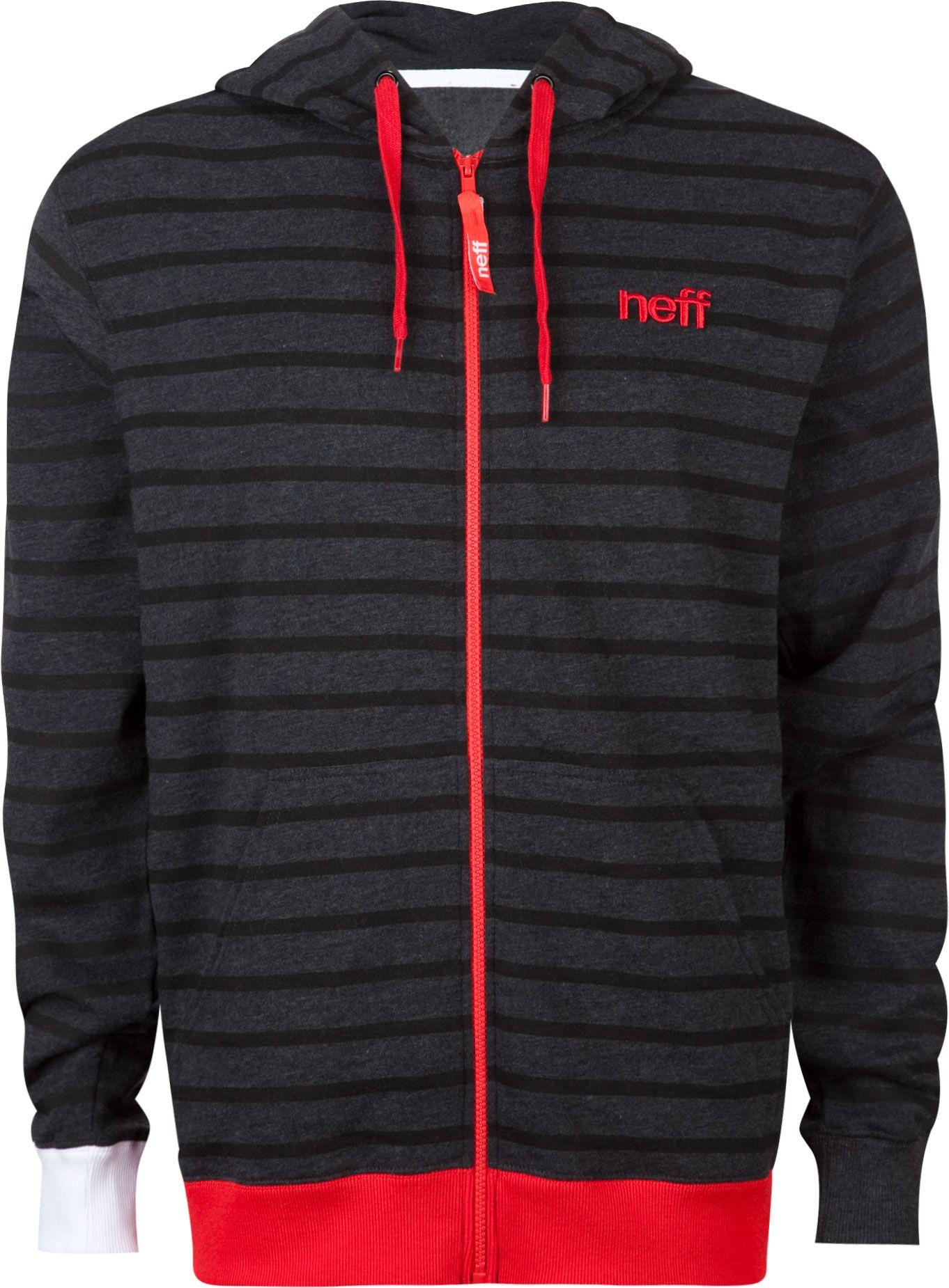 Neff Men/'s New World Pullover Hoodie Black Hooded Sweatshirt Urban Clothing