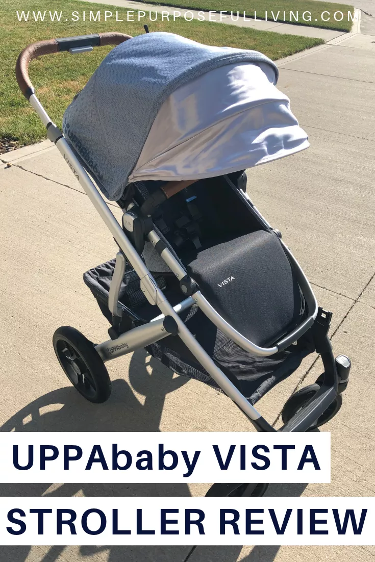 UPPAbaby VISTA Grows With Your Family Double strollers