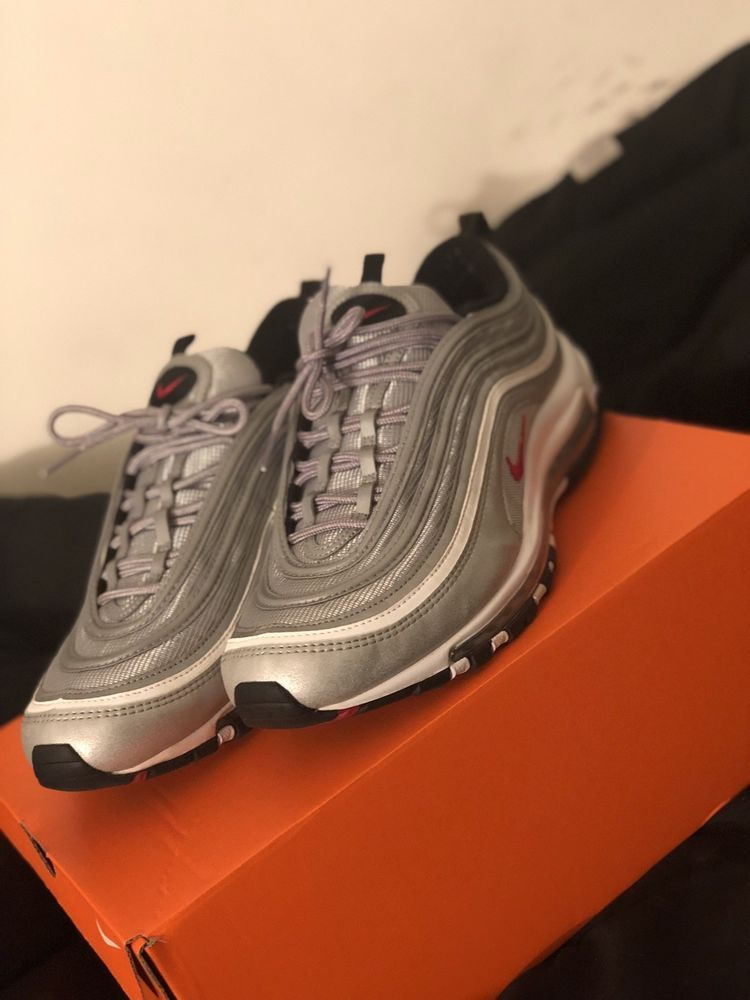 huge discount a486c f8e7b nike air max 97 silver bullet  fashion  clothing  shoes  accessories   mensshoes  athleticshoes (ebay link)