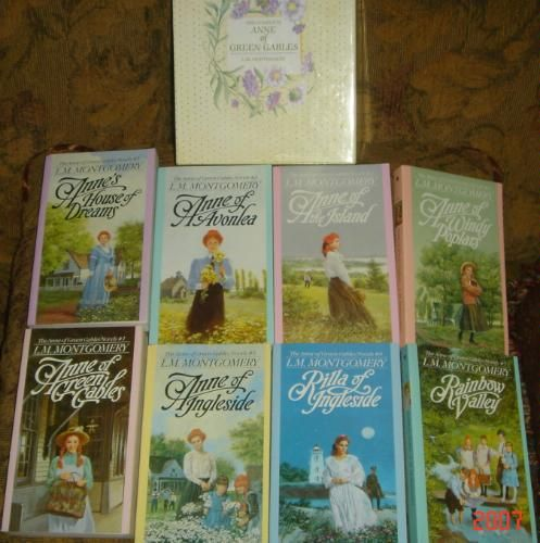 Anne Of Green Gables Complete 8 Book Box Set Anne Of Green