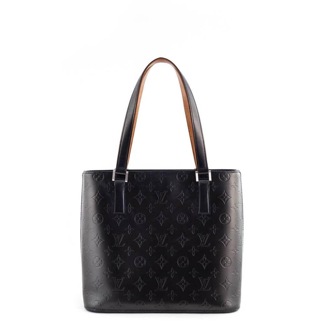 0defc4d7272 Louis Vuitton Graphite Empreinte Vernis Mat Vernis Stockton - LOVE that BAG  - Preowned Authentic Designer