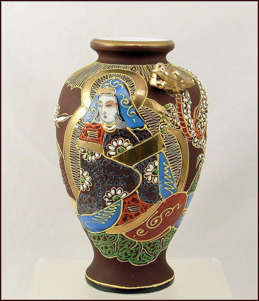 Satsuma moriage dragonware vase satsuma dragon ware moriage satsuma moriage dragonware vase reviewsmspy