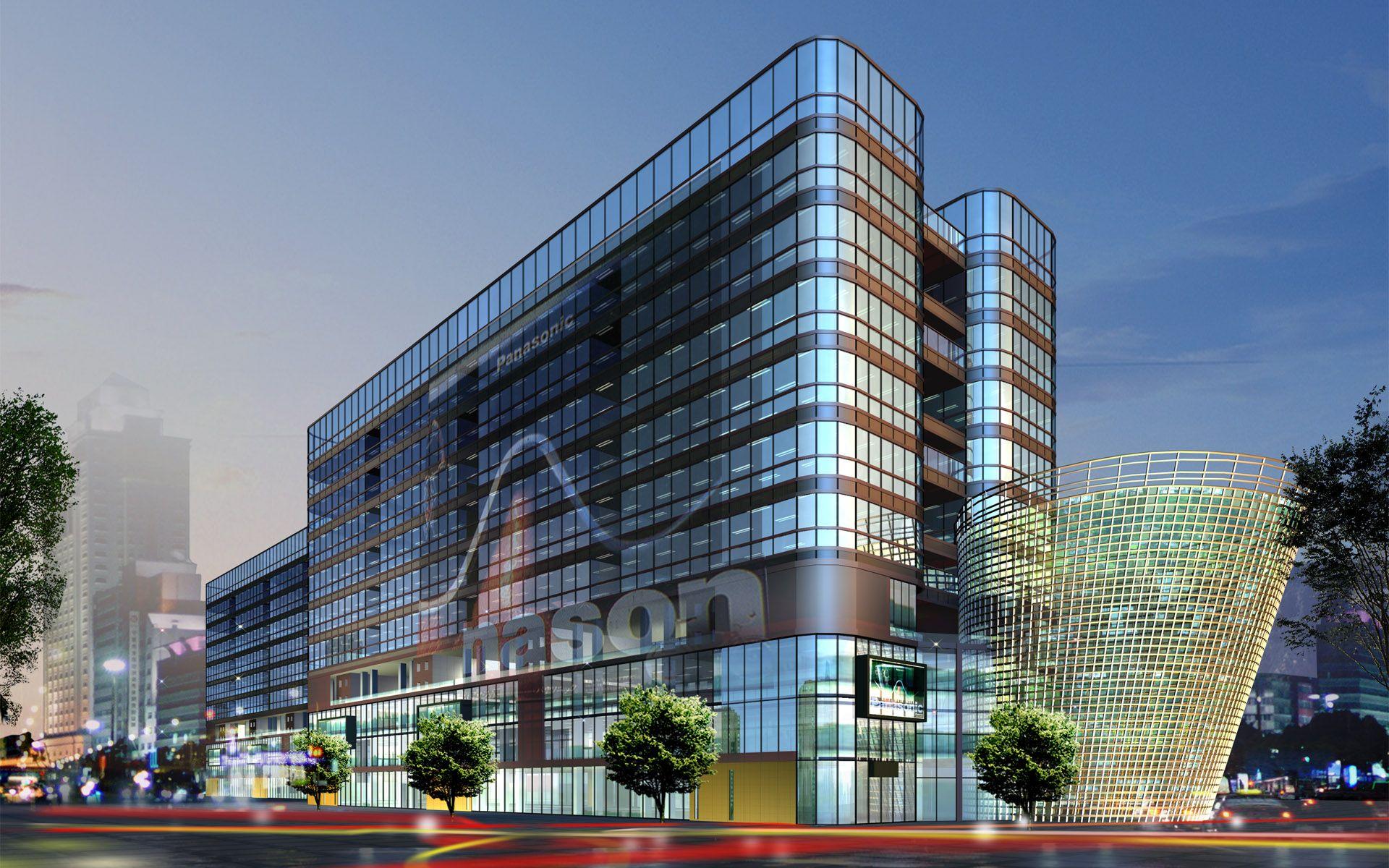 3d Apartment Design Exterior 3d commercial building design | Архитектура | pinterest