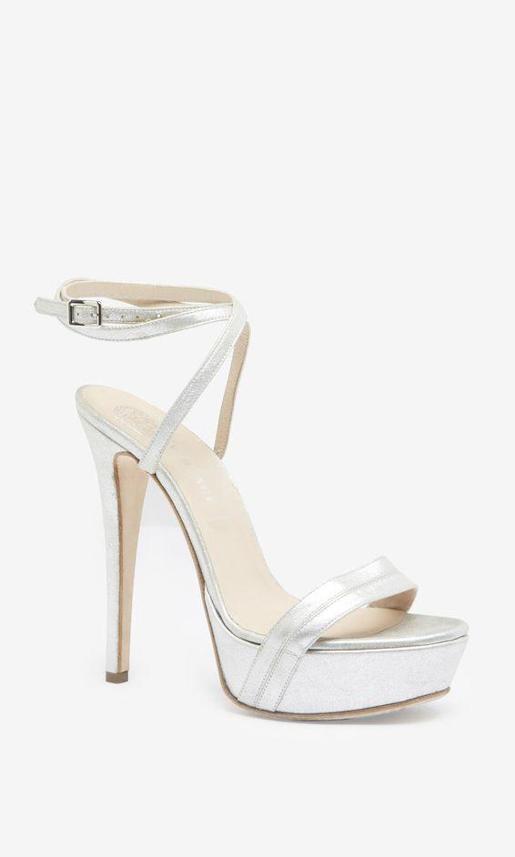 32b8c150ee2 Versace Silver Sandal