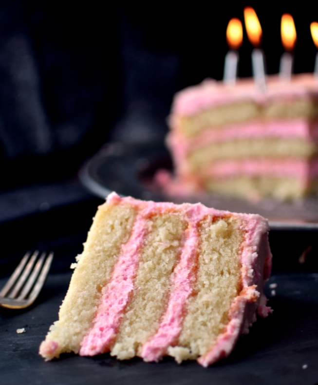 Yammie's Glutenfreedom: The Best Gluten Free White Cake Ever {My Recipe Finally Perfected