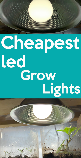 The Cheapest Led Grow Lights For Seed Starting And Indoor Gardens In 2020 Grow Lights For Plants Growing Bulbs Grow Lights