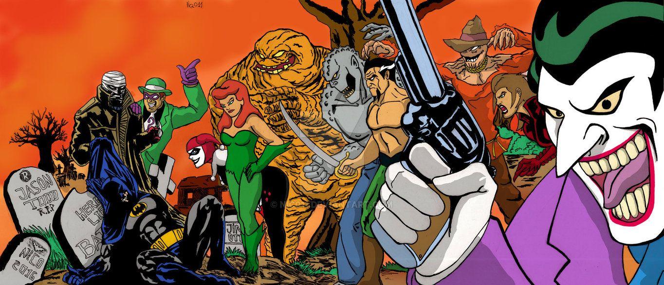 Batman Hush The animated series by nic011