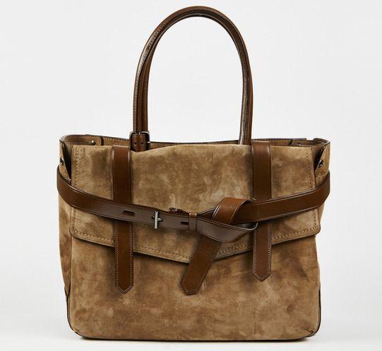 Reed Krakoff Taupe And Brown Handbag