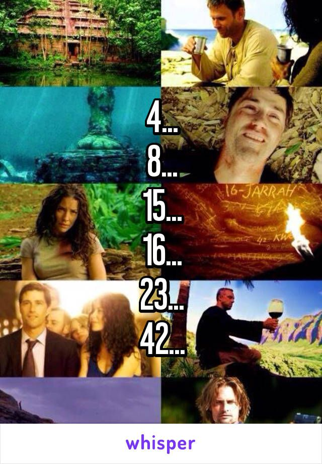 4 8 15 16 23 42 Best Tv Shows Lost