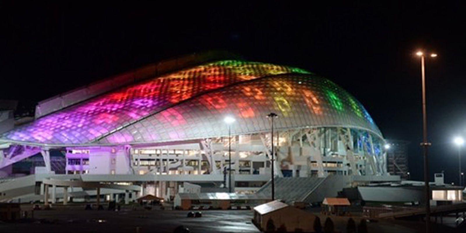 Sochi 2014 Olympic Park Arquitectura, Edificaciones