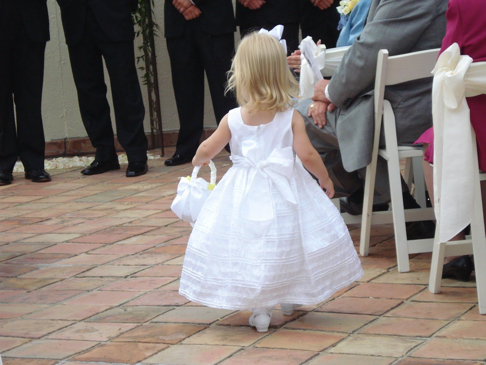 2 Year Old Flower Girl
