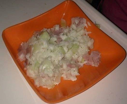 Reis mit Schinken und Gurke ⌛⌛ ② - breifrei-rezepte