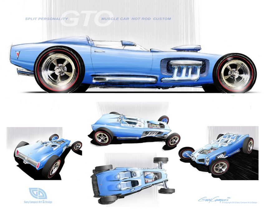 Image result for automotive concept art hot rod