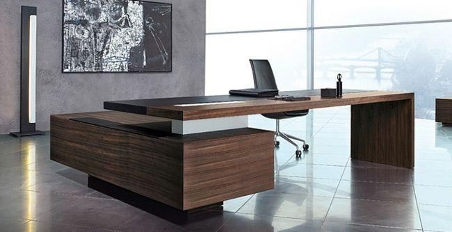 stilvolle Designer Möbel Holz | Bürowelten, Arbeitsecken ...