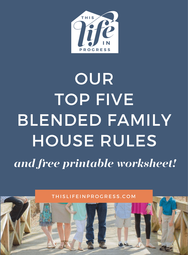 Our Top Five Blended Family House Rules | Ages and Stages