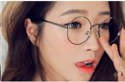 Harry potter óculos limpar lens rodada mulheres óculos vintage frame ótico  computador quadros homens de óculos oculos de grau femininos em Armações de  ... a68eedc88d