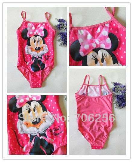 b690f7eb3f400 Aliexpress.com : Buy Girl Kids Child Children Size 2 9 Y Princess Fairy  Tinkerbell Barbie Minnie mouse Dora Mermaid Swimsuit Bathing Swimming  Costume from ...