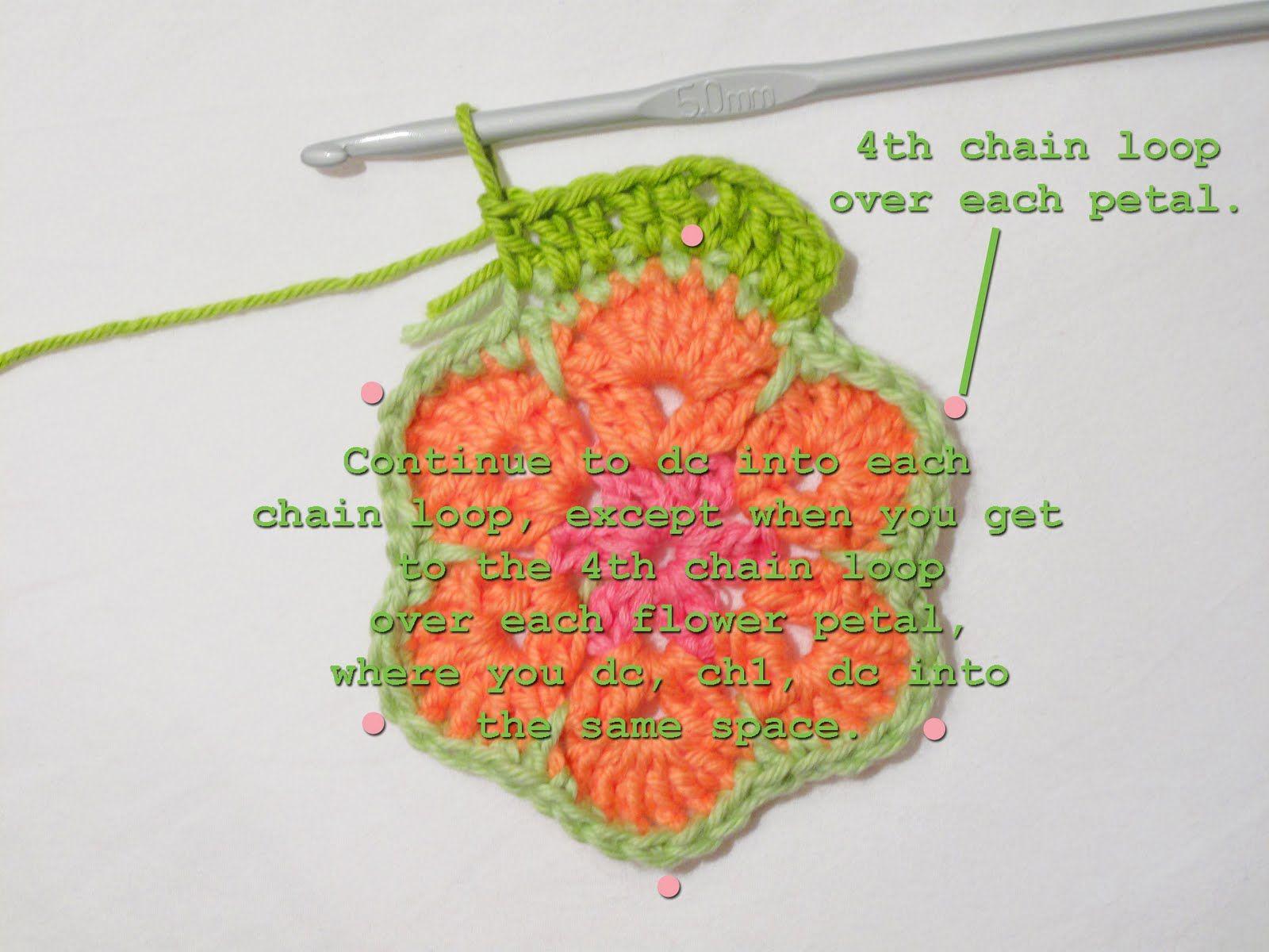 Heidi Bears: African Flower Hexagon Crochet Tutorial | diy ...