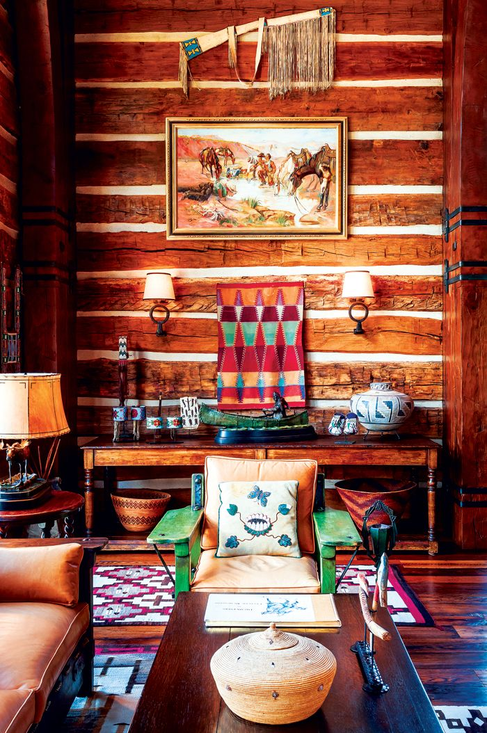 An Authentic Rustic Home In Jackson Hole Camp Western