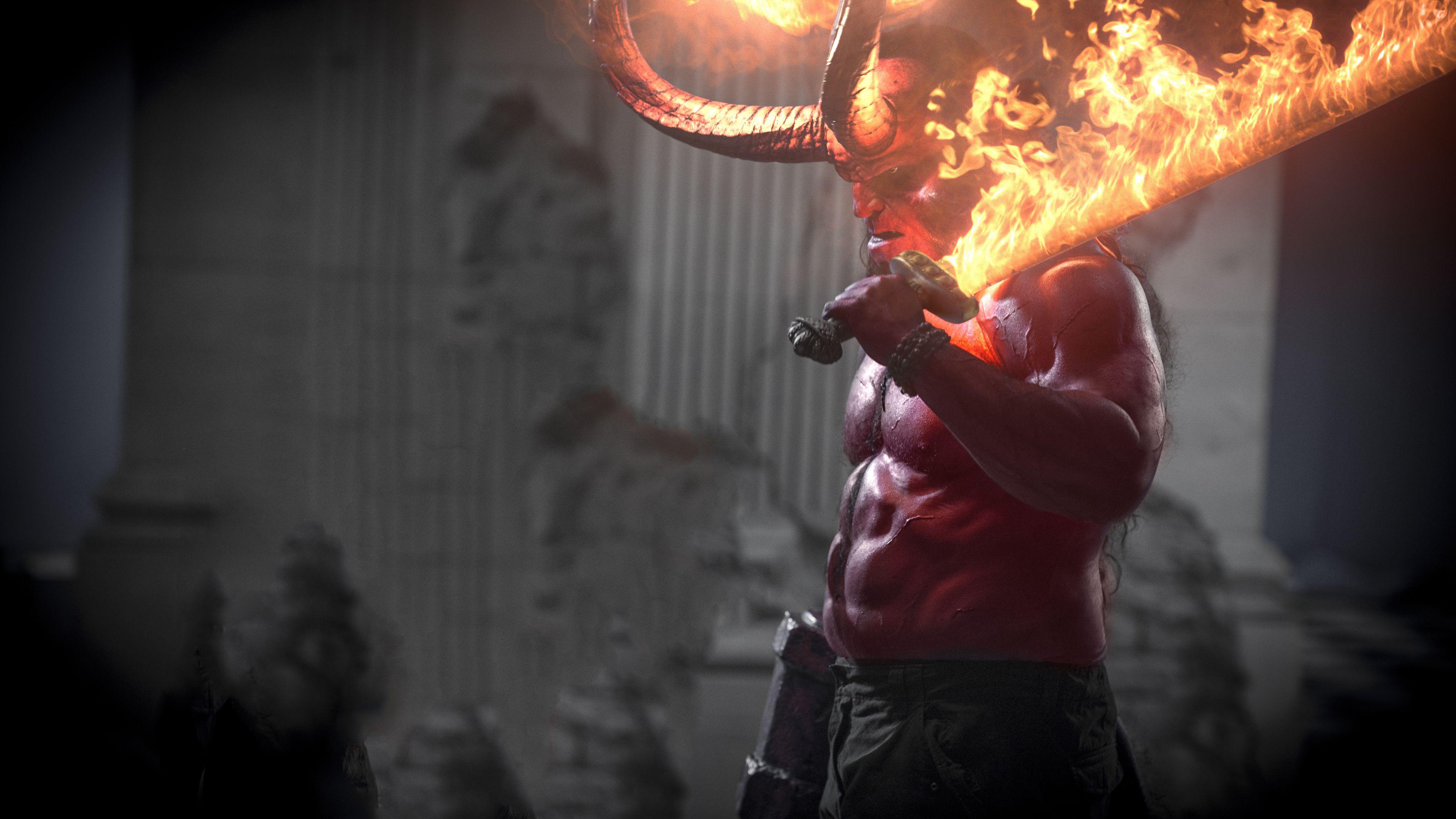 Hellboy Movie 2019 4k Movies Wallpapers Hellboy Wallpapers Hd Wallpapers 4k Wallpapers 2019 Movies Wallpap Movie Wallpapers Hellboy Movie Hellboy Wallpaper