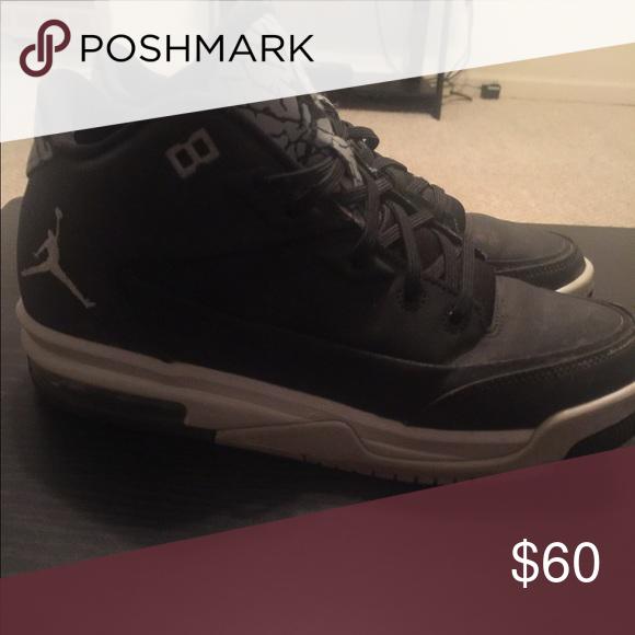 new arrival e1d7c ff72c Jordan Shoes | Jordans | Color: Black/Gray | Size: 7.5 in ...