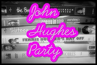 John Hughes 80s party - genius~! Love the pretty in pink spiked punch for Kelly...