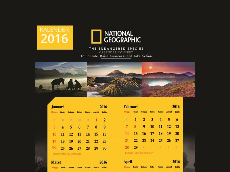 National Geographic Calendar | Calendar, National geographic, National