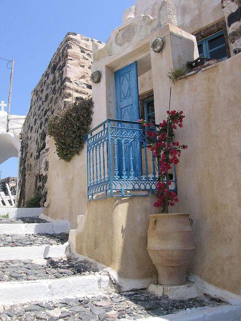 Casa di santorini islas griegas pinterest casas con for Casas en islas griegas