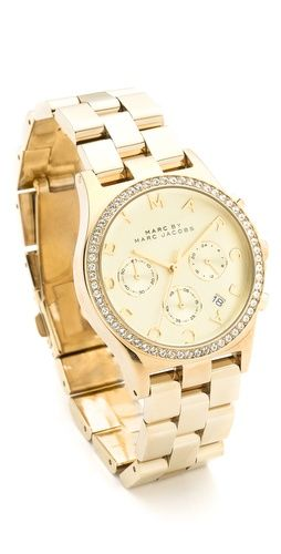 de28300b36 Almost got this instead of my gold MK... Marc by Marc Jacobs Henry Glitz  Watch