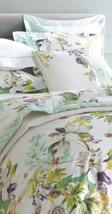 Yves Delorme Ailleurs Bedding Collection Frontgate Luxury Bed Sheets Bed Print Bedding