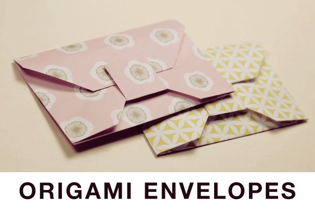 Save some money and give your letters and cards a personal touch by making some stylish origami envelopes.