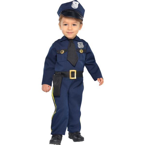 Baby Cop Costume  sc 1 st  Pinterest : cop costume for toddler  - Germanpascual.Com
