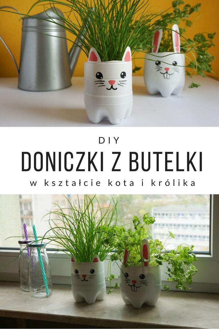 Diy Doniczka Z Plastikowej Butelki Diy Crafts Ideas