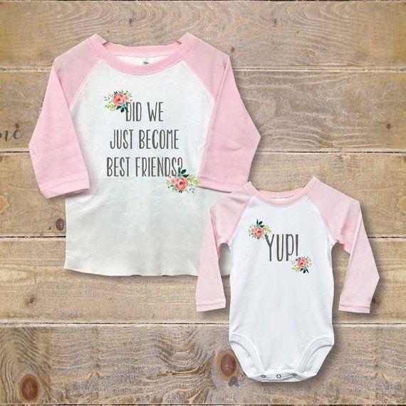 a38afa4b7 Big Sister Little Sister Shirts, New Big Sister, Baby Shower Gift, Big  Sister Baby Sister, New Big S