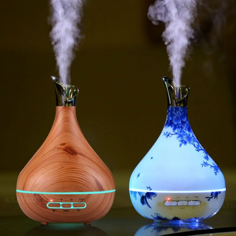 Fashion Beautiful Aroma Essential Oil Diffuser Ultrasonic Humidifier For Office Bedroom With Images Aroma Essential Oil Aromatherapy Diffusers Oil Diffuser
