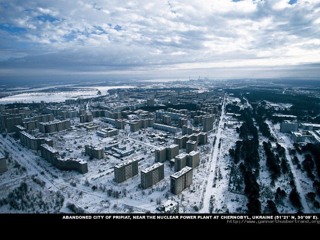 Abandoned city of Pripriat near power plant at Chernobyl, Ukraine. #deepcor #abandonedcity #powerplant #city #ukraine #photography #culture