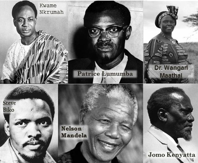 Photo of Six Black African Heroes in History