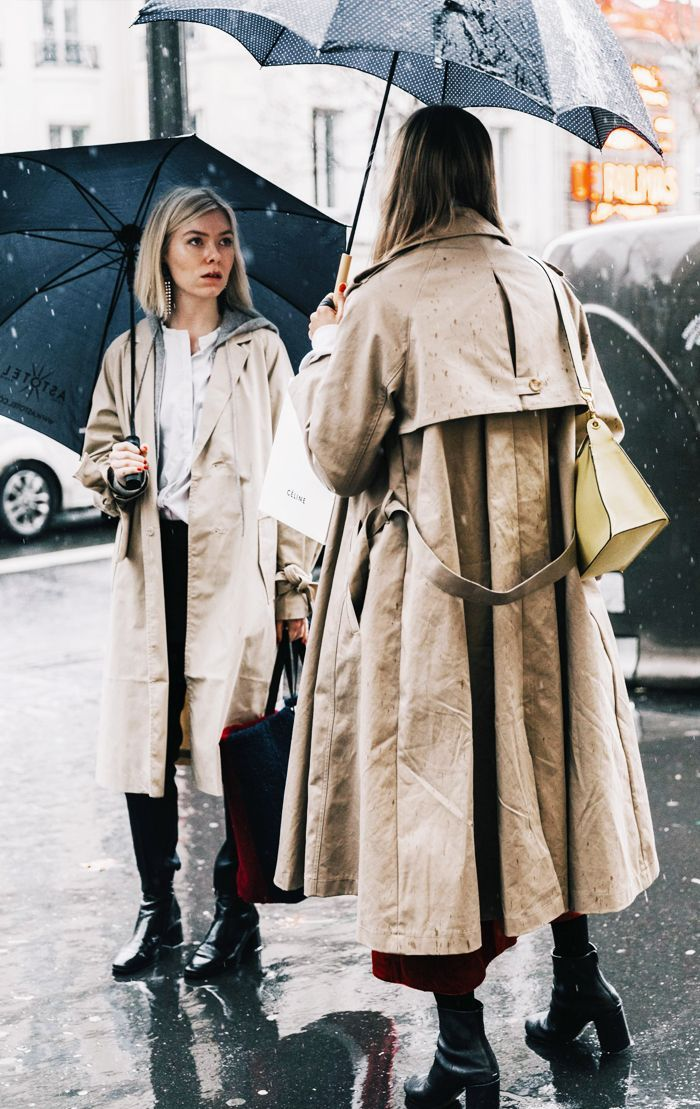 12 Rainy Day-Proof Outfits We're All Going to Wear