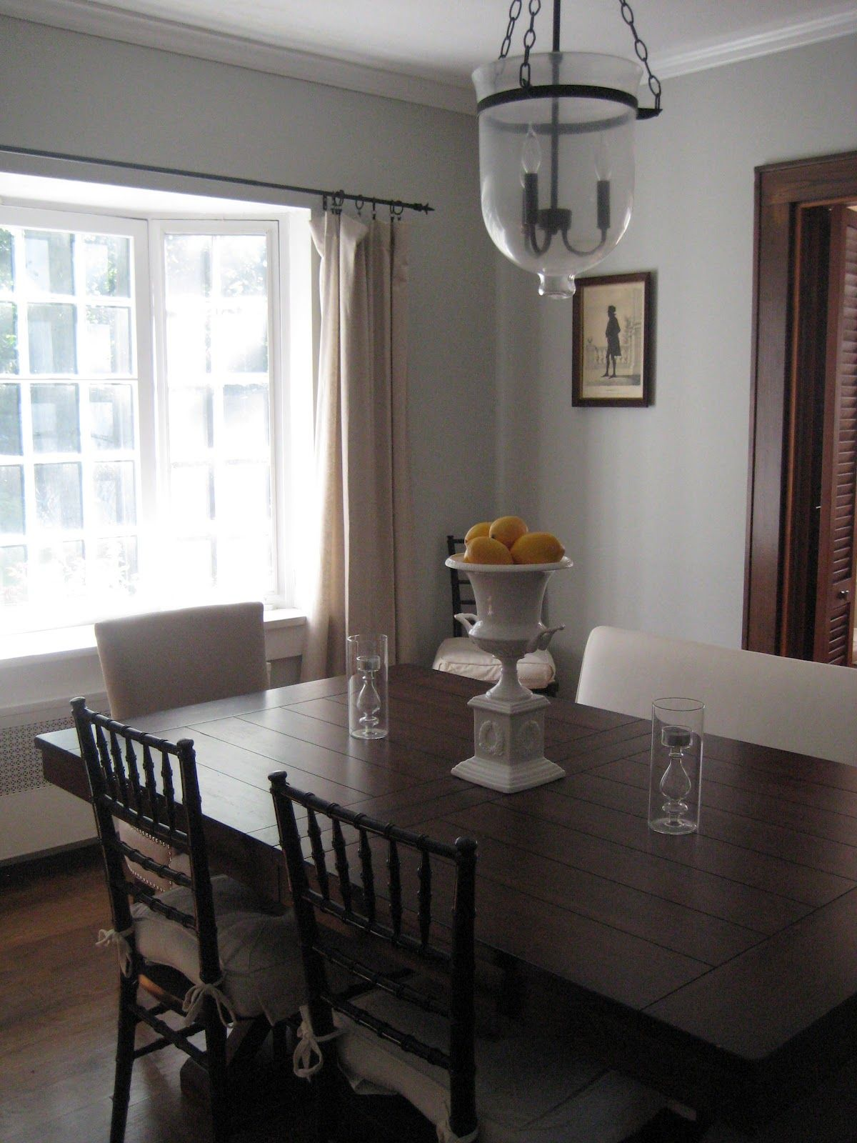 Best D G S House Grey Dining Room Taupe Dining Room 400 x 300