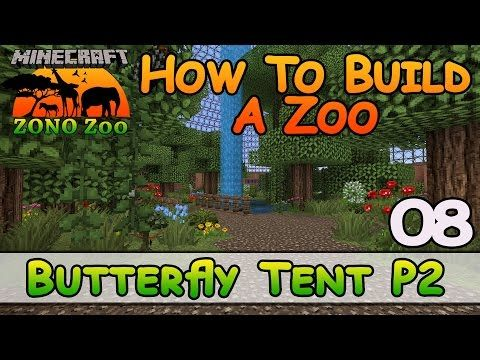 Zoo In Minecraft Over 100 Animals How To Build E1 Z