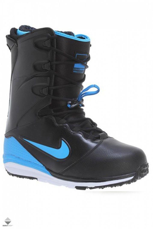 Buty Snowboardowe Nike Lunarendor Black Blue Hero 586532 041 Nike Sneakers Nike Blue Black