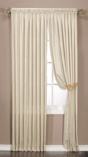 Window accents luster drapery panel 50 x 84 menards