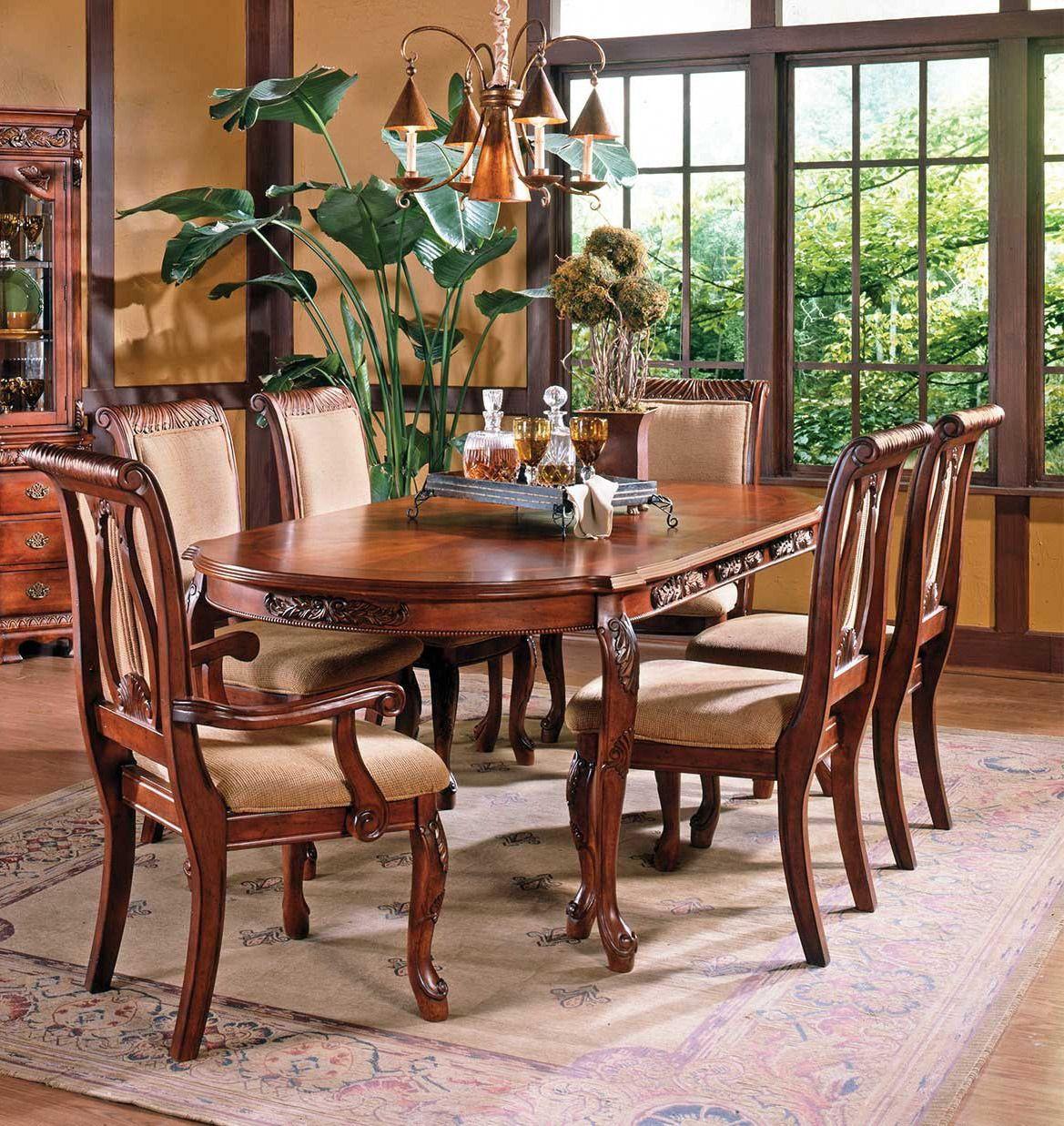 Harmony Oval Leg Formal Dining Room Set