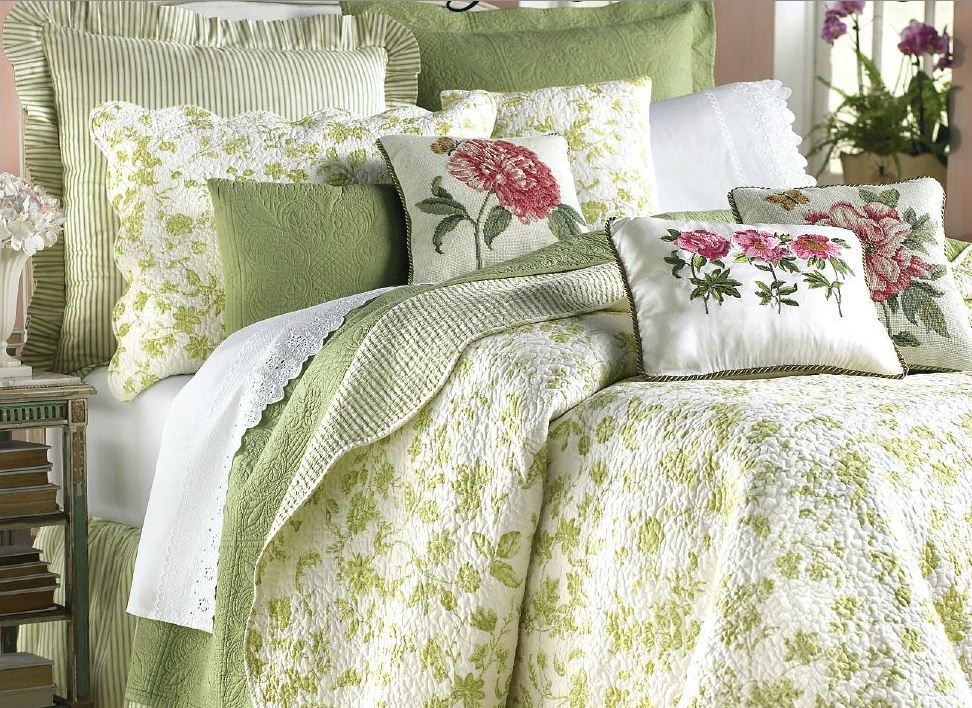 Williamsburg Colonial Toile Bedding Bed Home Decor Bedroom